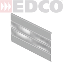 edco center vented soffit isometric