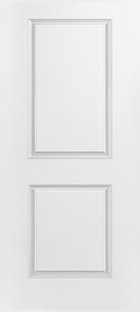 masontie 2 panel square top door