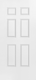 masonite 6 panel smooth/textured door