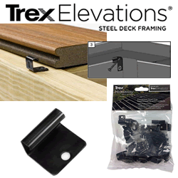 trex elevations hidden fasteners